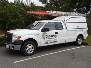 Giddens Air Conditioning Truck
